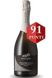 Daldin Prosecco Extra Dry DOCG Superiore Spumante 0,75 lt  93P Falstaff!