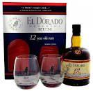 El Dorado Rum 12YO + 2 Gläser